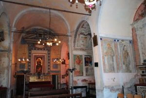 Chiesa Santa Maria Selva Mattutina - Navata interna