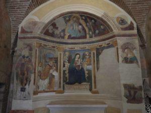 Madonna col Bambino in trono - S. Maria in Piazza