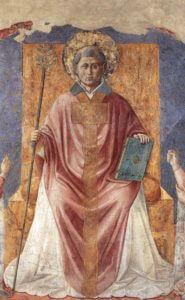 San Fortunato in Trono - Benozzo Gozzoli 1450