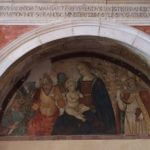 Madonna col Bambino tra Santi - Chiesa di San Francesco, Montefalco