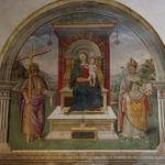 Nicchia di S. Andrea - Chiesa di San Francesco, Montefalco