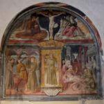 Nicchia di S. Antonio da Padova - Chiesa di San Francesco, Montefalco