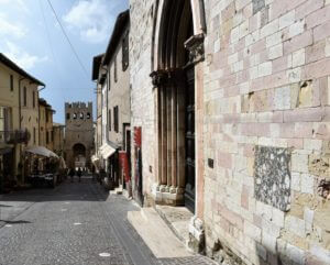 Chiesa di S. Agostino - Esterno (Montefalco)