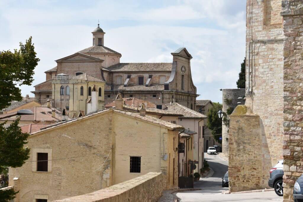 Chiesa di S. Chiara - Esterno (Montefalco)