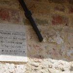 Chiesa di Santa Lucia - Iscrizione (Montefalco)
