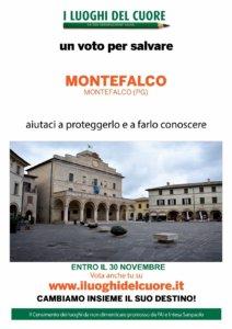 Locandina FAI - I Luoghi del Cuore - Montefalco