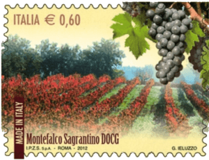 Francobollo Sagrantino montefalco.it