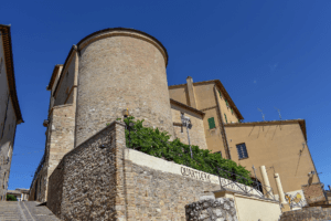 Ex Chiesa di San Filippo oggi Teatro Comunale - Retro - Montefalco