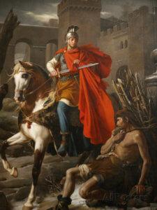 San Martino e il poverello