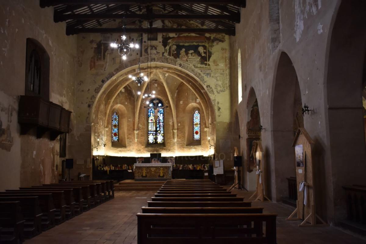 Chiesa di S. Agostino - Interno (Montefalco)